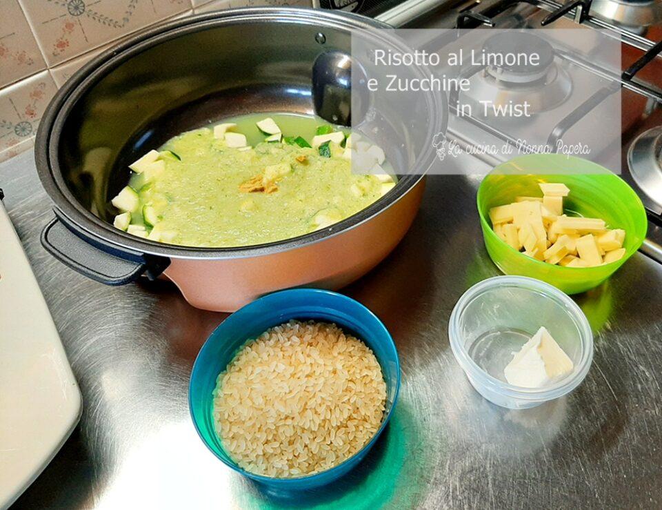 Risotto al Limone e Zucchine