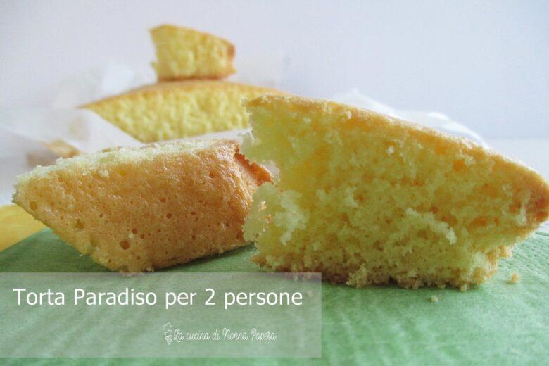 Torta Paradiso Ricetta per Due