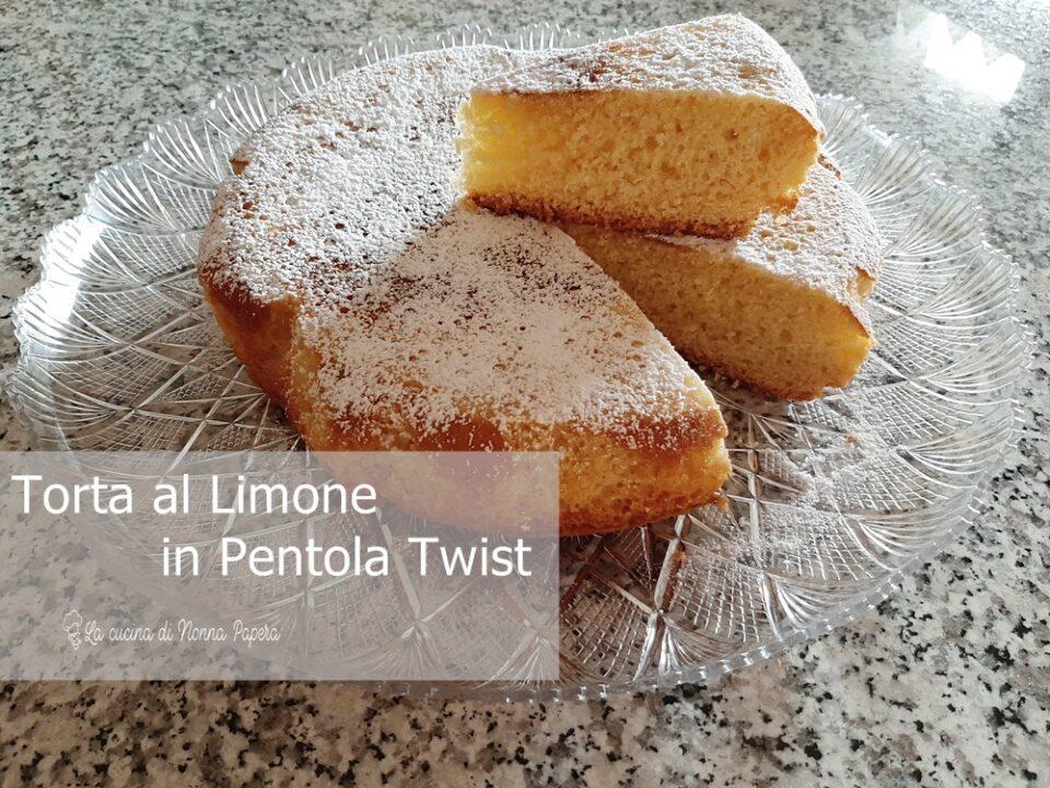 Torta al Limone in Pentola Twist