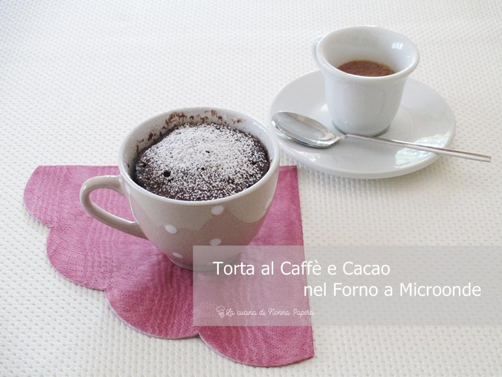 Torta al caffè e Cacao