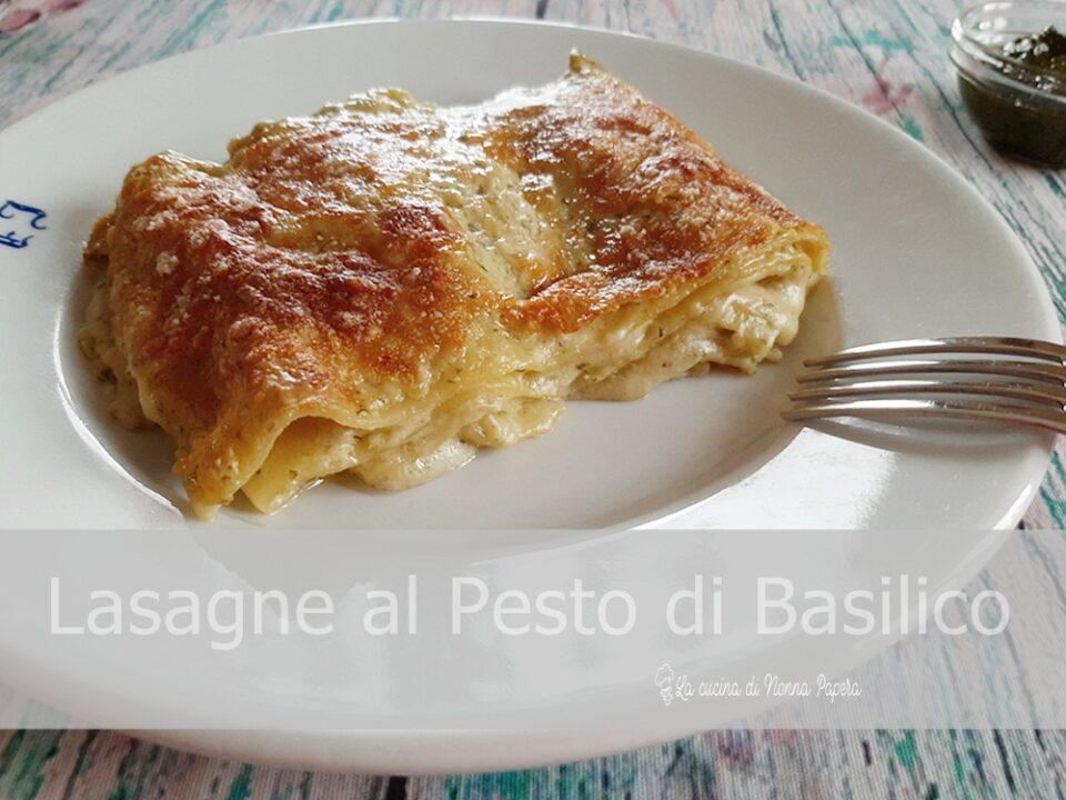 Lasagne al Pesto di Basilico