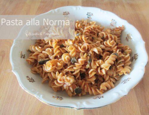Pasta Risottata alla Norma