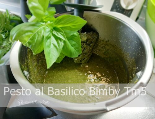 Pesto al Basilico con Bimby Tm5