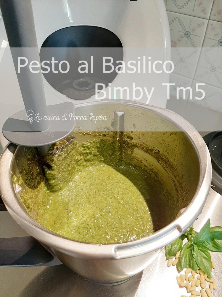 Pesto al Basilico Bimby Tm5