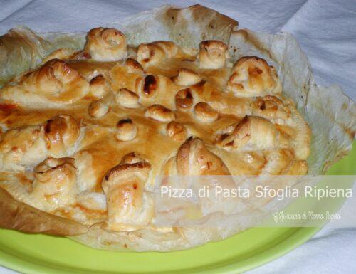 Pizza di Pasta Sfoglia Ripiena
