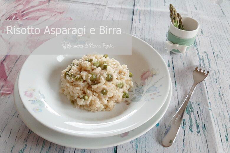 Risotto Asparagi e Birra