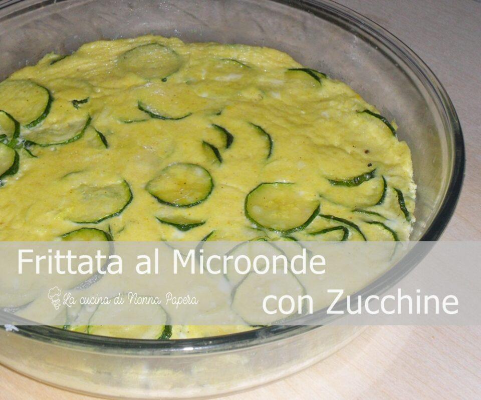 Frittata al Microonde con Zucchine