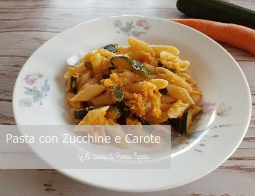 Pasta con Zucchine e Carote