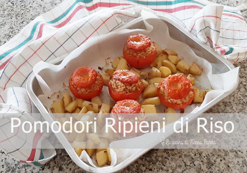 Pomodori di Riso con Patate