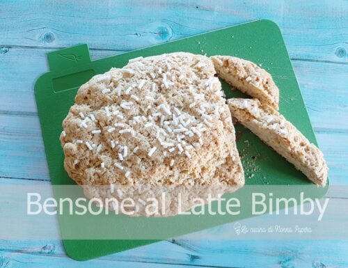 Bensone al Latte Bimby