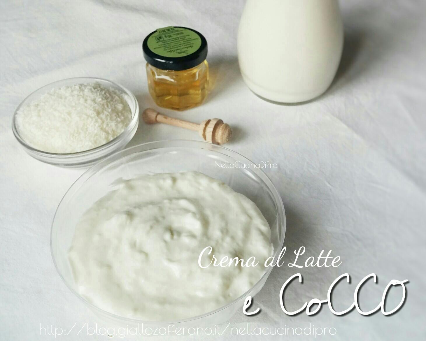 Crema al Latte e Cocco