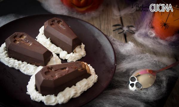 Budino croccante per Halloween