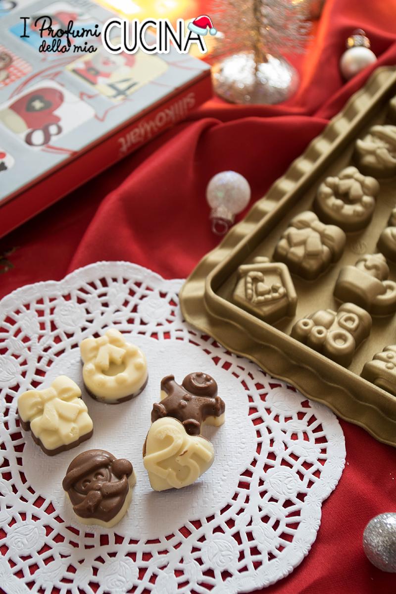 Cioccolatini Bicolore Per Calendario Dell Avvento I Profumi Della