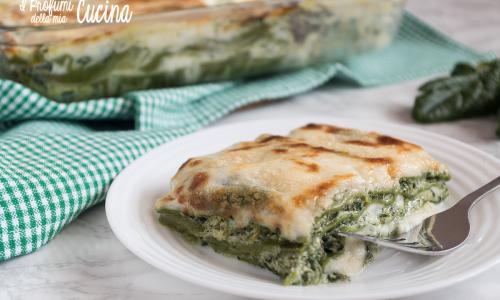 Lasagne di spinaci e ricotta