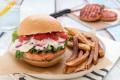 Hamburger di trota salmonata