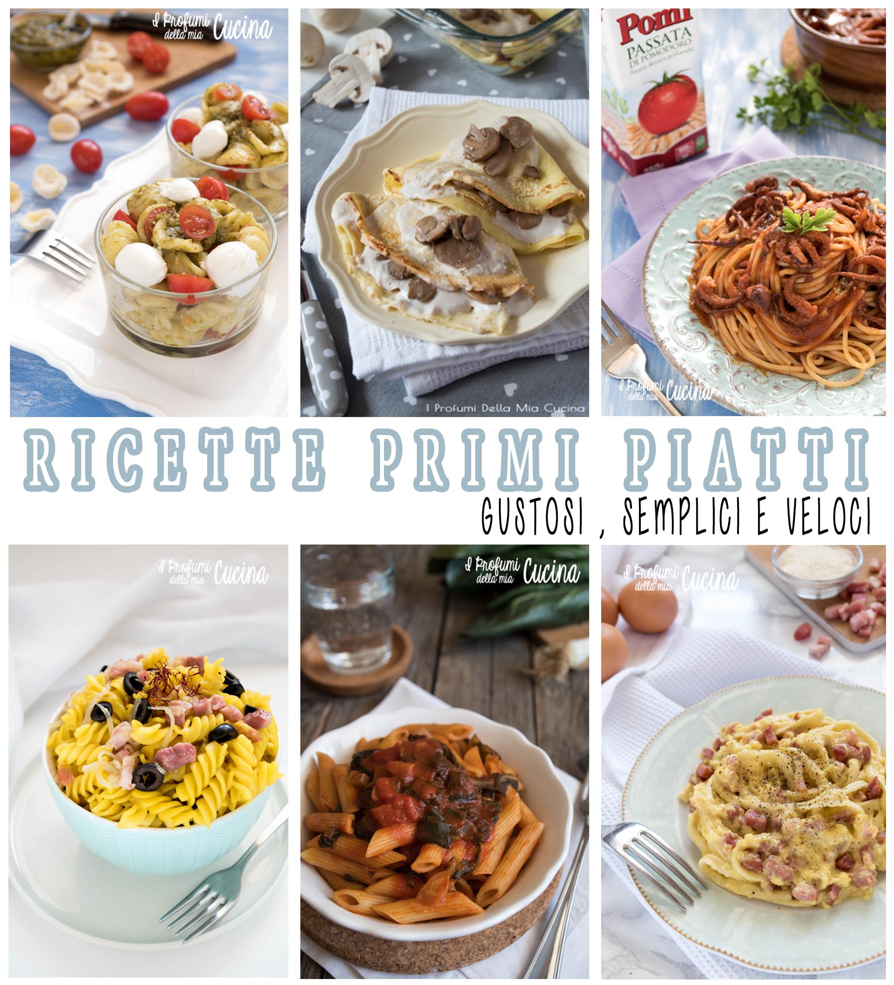 Ricette di Primi piatti