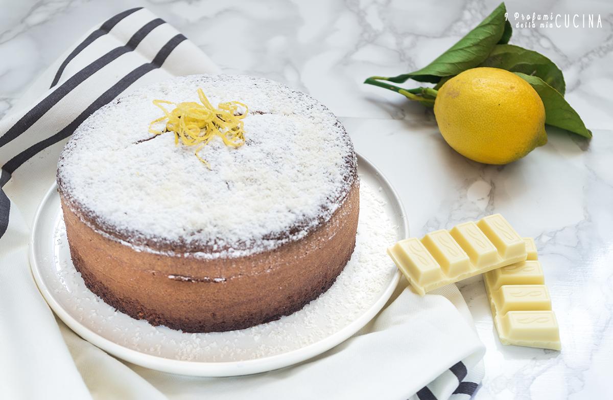 Torta Tenerina cocco e limone