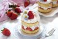 Shortcake alla panna e fragola