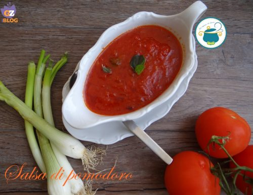 Salsa di pomodoro – Ricetta base-