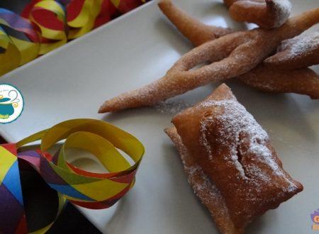 Chiacchiere al vento – ricetta dolce per Carnevale –