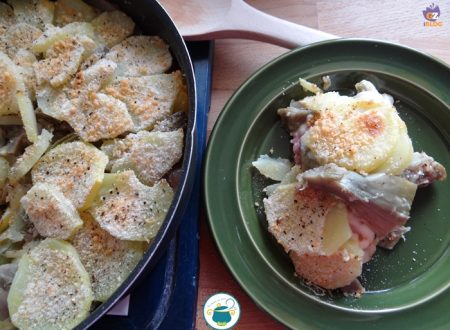 Tortiera di carciofi e patate – piatto unico-