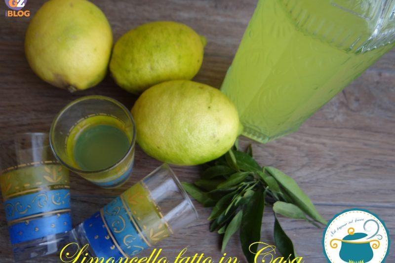 Limoncello fatto in casa – ricetta liquori-