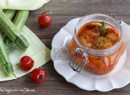 Parmigiana di zucchine in vasocottura – Ricetta veloce –