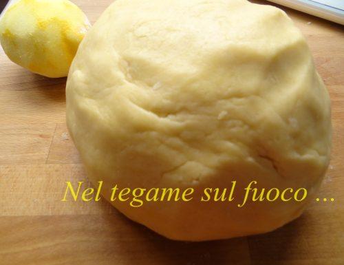 Pasta frolla al limone – ricetta base dolce –