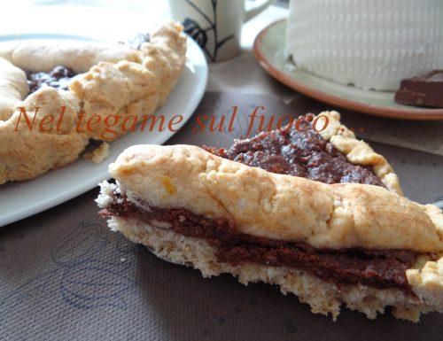 Crostata con crema alle nocciole leggera – ricetta senza glutine –