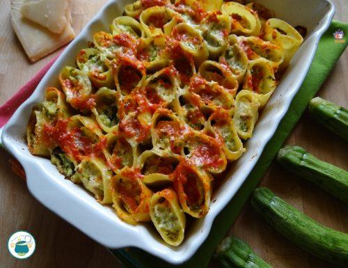 Pasta ripiena di zucchine e ricotta – primi piatti –