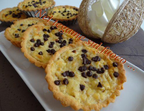 Pastiera piccola al cioccolato | ricetta pasquale