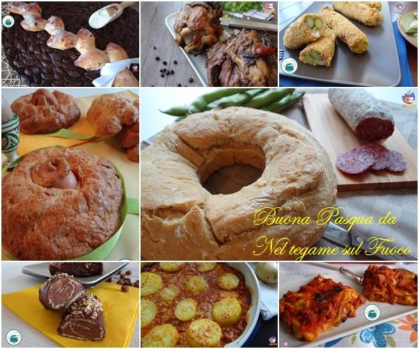 raccolta di ricette per Pasqua