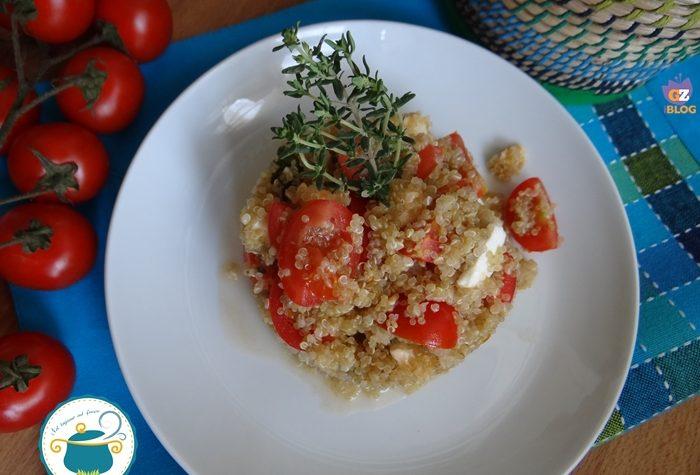Insalata di quinoa alla caprese – ricetta senza glutine