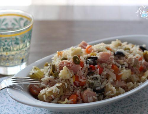 Insalata di riso integrale affumicata – ricetta primi piatti-