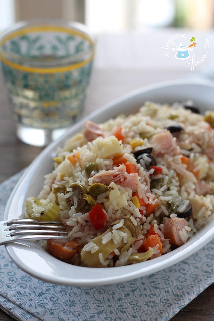 insalata+riso+integrale