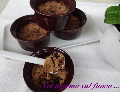 Crumble di more – ricetta dolce senza glutine-