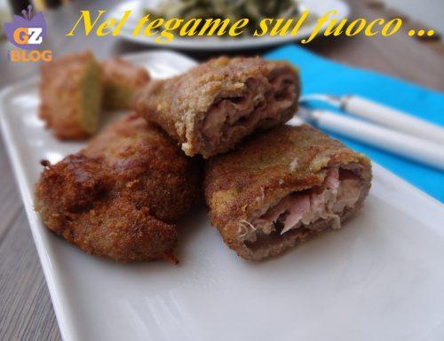 Cordon bleu di carne – ricetta secondi-
