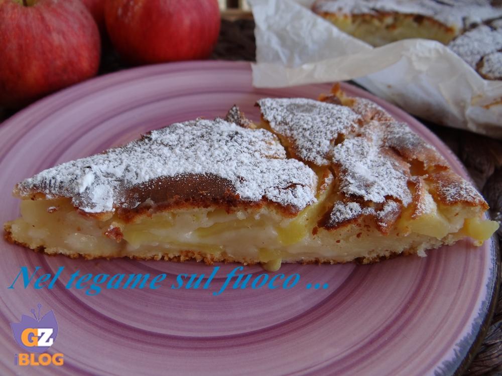 Eccezionale Torta di mele con ricotta e limone -senza uova e burro - MG02