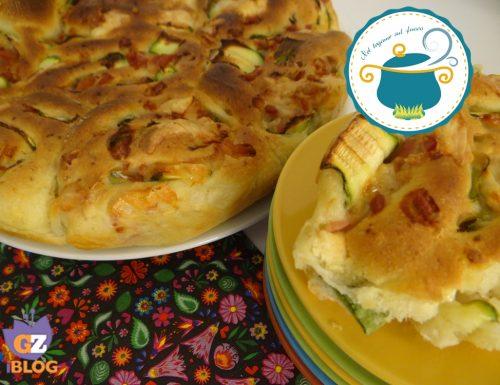 Torta di rose salata di patate- ricetta lievitati-