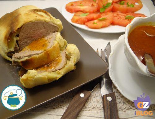 Filetto in crosta con salsa agli aromi – ricetta secondi