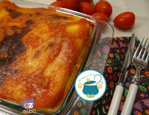 Lasagne di polenta gratinate- ricetta senza glutine-