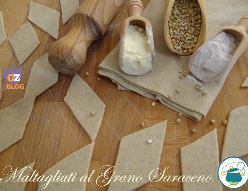 Maltagliati al grano saraceno – pasta fresca senza uova