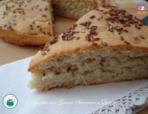 Pagnotta con grano saraceno e quinoa – lievitati senza glutine-