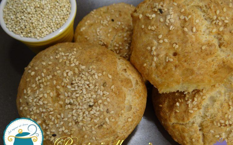Panini alla quinoa – ricetta del pane senza glutine –