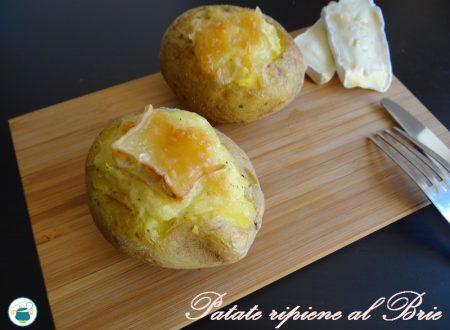 Patate ripiene al Brie – ricetta economica vegetariana-
