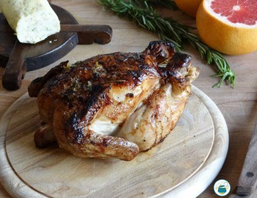 Pollo ruspante alla arancia – ricetta
