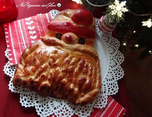 Brioche di Babbo Natale – ricetta natalizia dolce-