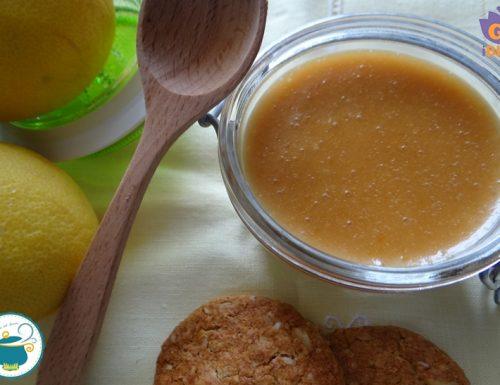 Lemon curd senza uova – ricetta Bimby –
