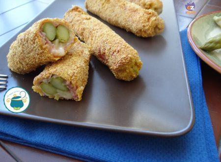 Asparagi in crosta filanti/ ricetta senza glutine