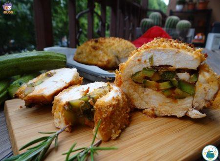 Tasca di pollo ripiena di zucchine/ ricetta secondi